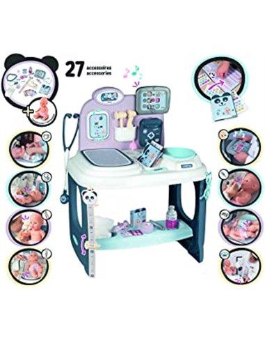 Smoby- Baby Care Centro pediátrico para muñecos bebé 240302