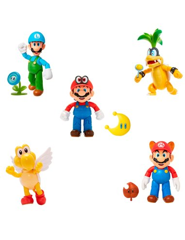 Super Mario Figura 10 cm. Surtida